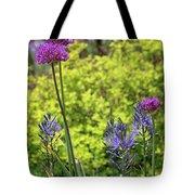 Allium And Camassia Tote Bag