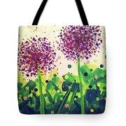 Allium Explosion Tote Bag