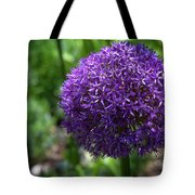Allium Gladiator Closeup Tote Bag