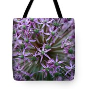 Allium Macro Tote Bag