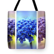 Allium Triptych Tote Bag