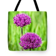 Alliums Tote Bag