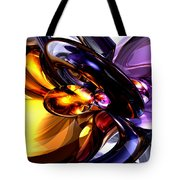 Alluring Grace Abstract Tote Bag