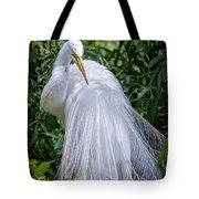 Alluring In White Tote Bag