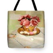 Almond Blossom Tea Tote Bag