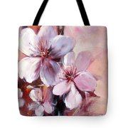 Almonds Blossom  12 Tote Bag