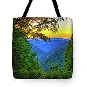 Almost Heaven - West Virginia 3 - Paint Tote Bag