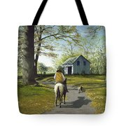 Almost Home 16x20 Tote Bag