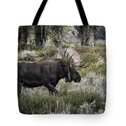 Almost Off Tote Bag