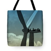 Almost Out Of Sight Tote Bag