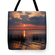 Almost Sunset In Florida Tote Bag