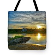 Almost Sunset In Pawleys Island Tote Bag