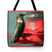 Almost Time To Fly To South America Tote Bag