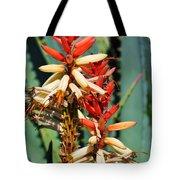 Aloe Bloom Desert Garden Tote Bag