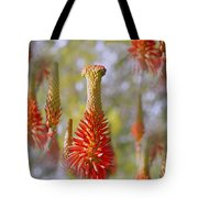 Aloe Vera Bloom Tote Bag