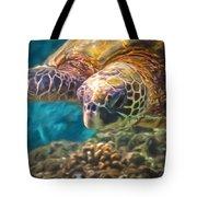 Aloha Honu Tote Bag