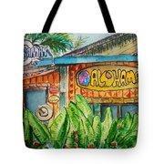 Alohaman Tote Bag