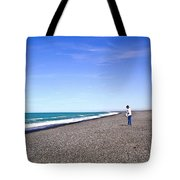Alone And At Peace Tote Bag