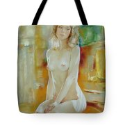 Alone At Home Tote Bag