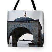 Alone Bird Tote Bag