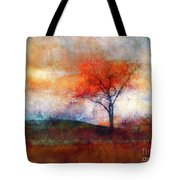 Alone In Colour Tote Bag