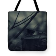 Alone In The Darkness Tote Bag