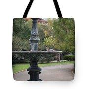 Alone In The Fountain Tote Bag