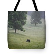 Alone In The Meadow Tote Bag