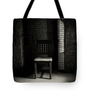 Alone In The Room Tote Bag