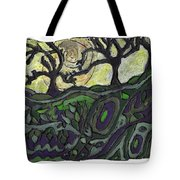 Alone In The Woods Tote Bag