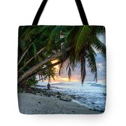 Alone On The Beach 2 Tote Bag