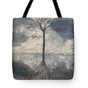 Alone Tree Tote Bag