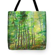 Along Buckslide Road Tote Bag