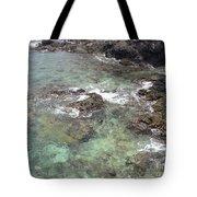Along Coki Beach Tote Bag