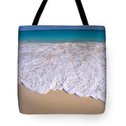 Along Shoreline Tote Bag
