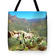 Along The Apache Trail Tote Bag