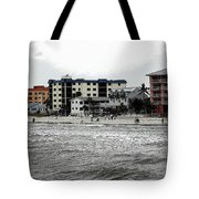 Along The Beach Tote Bag