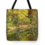 Along The C And O Canal Tote Bag