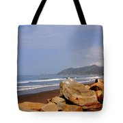 Along The Californian Coast Tote Bag