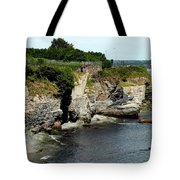 Along The Cliff Walk Trail Tote Bag