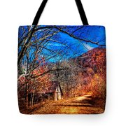 Along The Country Lane Tote Bag