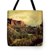 Along The Crooked River Tote Bag