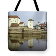 Along The Danube Tote Bag