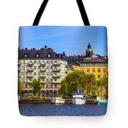 Along The Dock Tote Bag