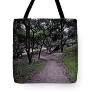 Along The Dusty Trail Tote Bag