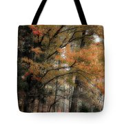 Along The Edge Of October Tote Bag