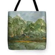 Floating Along The Etowah River Tote Bag