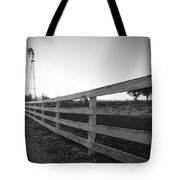 Along The Fence Tote Bag