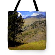 Along The Hell Roaring Creek Trail Tote Bag