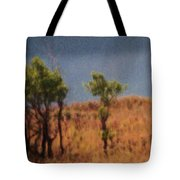 Along The Lake Tote Bag